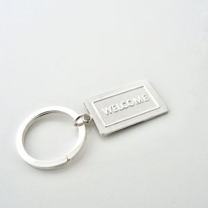 Tiffany welcome mat keychain. New without tags